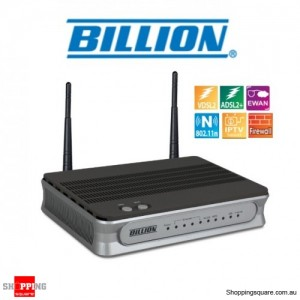 Billion BiPAC 8700NEXL R2 Wireless-N VDSL2/ADSL2+ Firewall Modem Router IPv4 IPv6 LAN Ethernet 3G 4G LTE