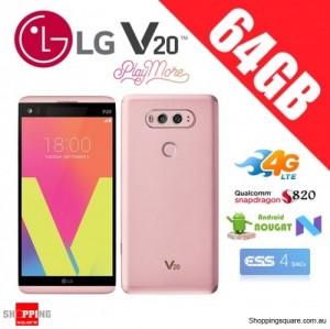 LG V20 64GB H990N Dual Sim 4G LTE Unlocked Smart Phone Pink