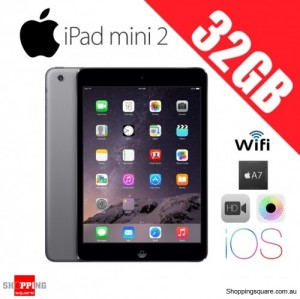 Apple iPad Mini 2 32GB Retina WiFi Tablet PC Space Gray
