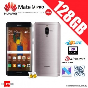 Huawei Mate 9 Pro 128GB LON-L29 Unlocked Smart Phone Titanium Gray