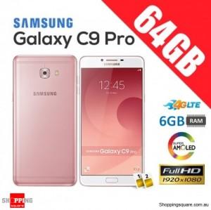 Samsung Galaxy C9 Pro 64GB C9000 4G LTE Unlocked Smart Phone Pink