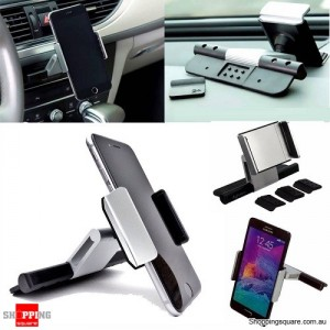 Universal 360 Degree Rotation CD Slot Car Phone Mount Holder for Android iPhone Samsung