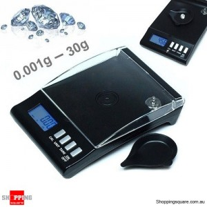 0.001g 30g High Precision Electronic Digital Milligram Pocket Jewellery Scale