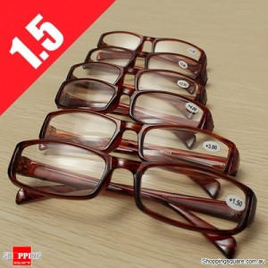 Lightweight Presbyopic Fatigue Relieve Comfortable Reading Glasses Strength 1.5