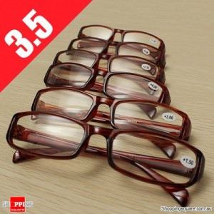 Lightweight Presbyopic Fatigue Relieve Comfortable Reading Glasses Strength 3.5