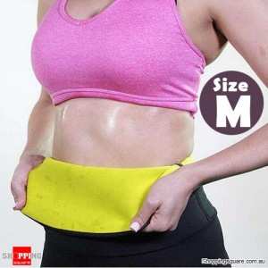 Slimming Stretch Neoprene Waist Belt Corset Body Shaper for Training M Size