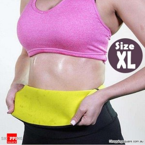 Slimming Stretch Neoprene Waist Belt Corset Body Shaper for Training XL Size