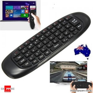 Mini 2.4G Wireless 6-Axis Gyroscope Air Mouse Remote Control Keyboard for XBMC Android TV Box Mini PC