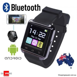 Bluetooth Wireless Smart Wrist Watch for Android Samsung Sony LG Huawei AU Local Stock