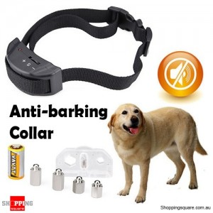 Dog Training Shock Collar for Anti-Bark Barking Stop No Noise