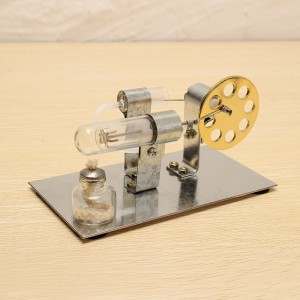 DIY Hot Air Engine Model Toy Kits for Education Home Decor