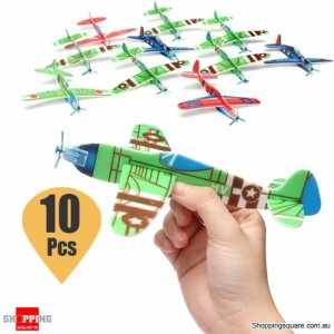 10Pcs of Flying Glider Planes for Gift Birthday Children Party Bag Filler