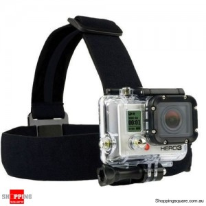 Head Strap Mount Elastic Head Belt For GoPro Hero 1/2/3/4/5