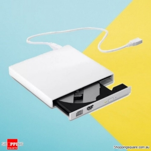 USB 2.0 External Combo Optical Drive Player Burner CD & DVD for Windows