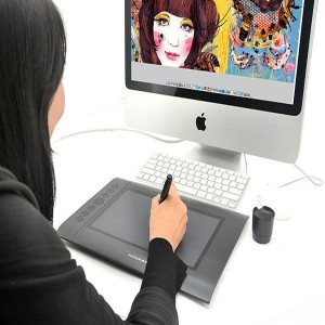 Graphics Drawing Tablet & Pen Supported USB for Mac OS Windows