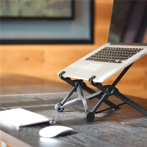 Adjustable Ergonomic Laptop Stand supported Eye-Level for MacBook PC Laptop