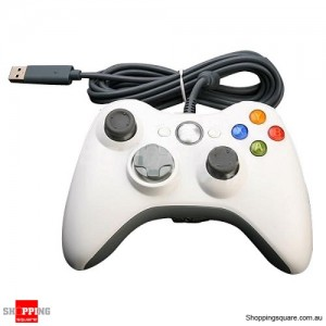 USB Wired Game Pad Gamepad Controller for Xbox 360 White Colour
