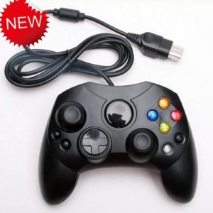 Wired Classic Gamepad Joypad Controller For Xbox Console Black Colour