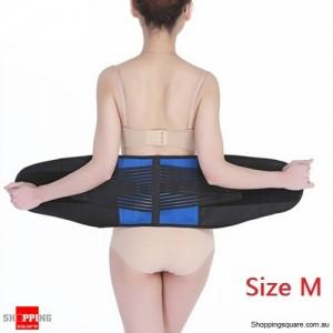 Deluxe Neoprene Lumbar & Lower Back Waist Support Brace for Posture Size M