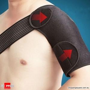 Adjustable Shoulder Support Brace Compression Strap for Protection Sports