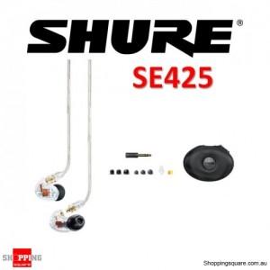 Shure SE425 In-Ear Sound Isolating Earphones Clear