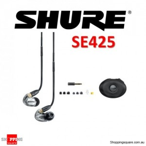 Shure SE425 In-Ear Sound Isolating Earphones Silver