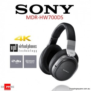 Sony MDR-HW700DS Digital Surround Wireless Headphone Black