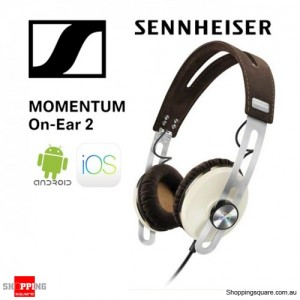 Sennheiser Momentum 2 On-Ear Music Portable Headphone Ivory