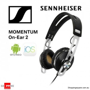 Sennheiser Momentum 2 On-Ear Music Portable Headphone Black
