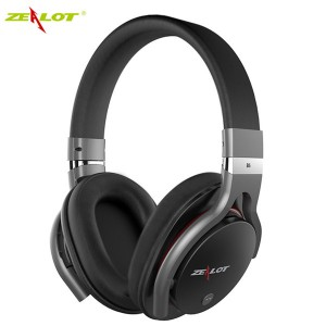 ZEALOT B5 Bluetooth 4.0 Wireless Universal Stereo Headphone Headset Supported TF Card Black Colour