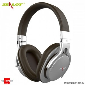 ZEALOT B5 Bluetooth 4.0 Wireless Universal Stereo Headphone Headset Supported TF Card Silver Colour