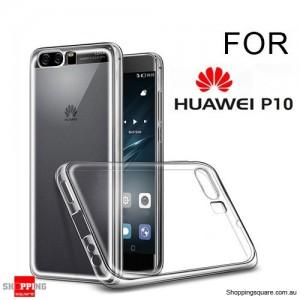 Slim TPU Soft Gel Transparent Case Cover for Huawei P10