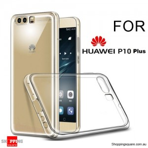 Slim TPU Soft Gel Transparent Case Cover for Huawei P10 Plus