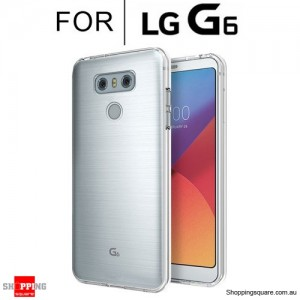 Slim TPU Soft Gel Transparent Case Cover for LG G6