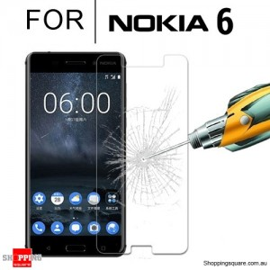 For Nokia 6 Real Tempered Glass Film Screen Protector