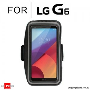 Sports Running Armband Case for LG G6 Black Colour