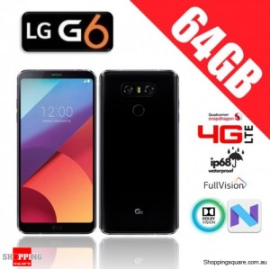 LG G6 64GB G600 4G LTE Unlocked Smart Phone Astro Black (Korea Version)