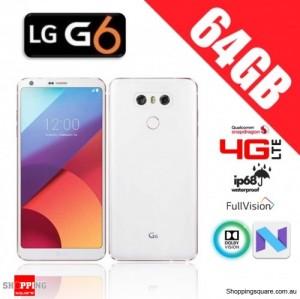 LG G6 64GB G600 4G LTE Unlocked Smart Phone Mystic White (Korea Version)