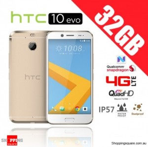 HTC 10 Evo 32GB M10F 4G LTE Unlocked Smartphone Gold