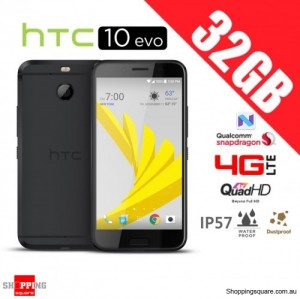 HTC 10 Evo 32GB M10F 4G LTE Unlocked Smartphone Gray Gunmetal