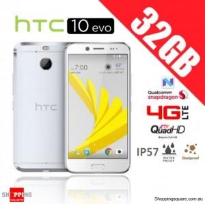 HTC 10 Evo 32GB M10F 4G LTE Unlocked Smartphone Silver