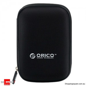 Genuine ORICO PHD-25 2.5 Inch Portable EVA Hard Drive Protection Case Bag for External HDD SSD Black Colour