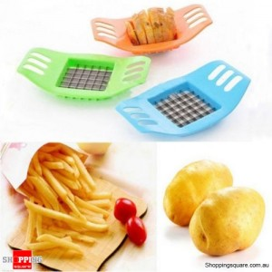 French Fries Potato Vegetable Fruit Cutter Maker Slicer Chopper Chipper Blade
