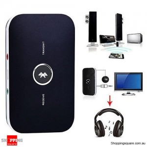 2 in1 HiFi Wireless Bluetooth Audio Transmitter & Receiver Adapter Supported 3.5MM RCA Music