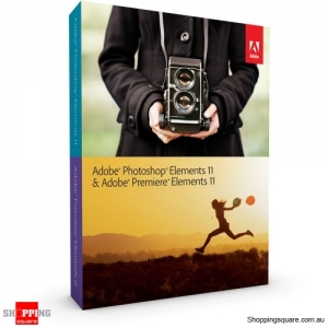 Adobe Photoshop + Premiere Elements 11 for Windows and Mac OS Full Edn