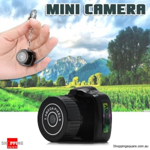 Smallest Spy Camera Tiny DV Surveillance Camcorder