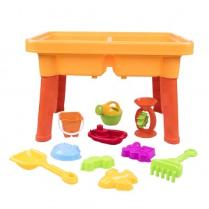 2-in-1 Sand and Water Table Beach Accessories