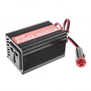 200W DC 5V, 0.5A Handheld Auto Power Inverter