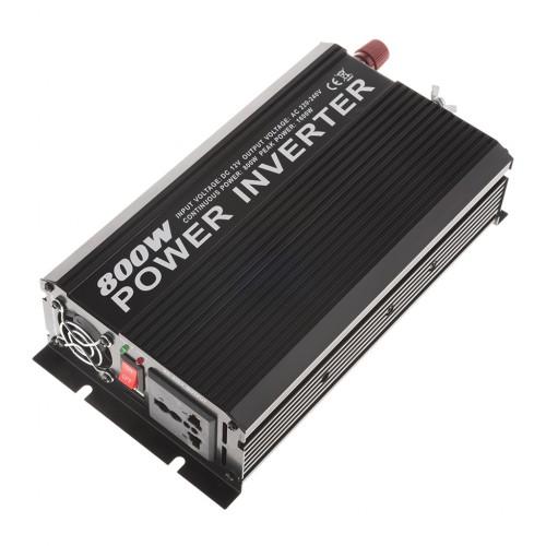 Heavy Duty 800-Watt Double-Outlet Power Inverter