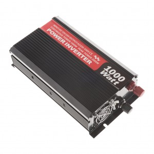 Heavy Duty 2000-Watt Max Double-Outlet Car Power Inverter
